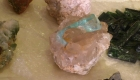 Aquamarine from Haramosh Valley of Northern Areas.